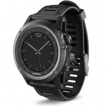 Relógio Com Gps Garmin Fenix 3 Cinza Tela 1