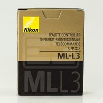 Controle Remoto Nikon Ml-l3 Original D7000 D5100 D5000 D3000