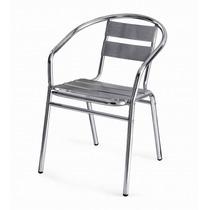 Silla De Aluminio Para Bares O Cafeterías (ya-201)