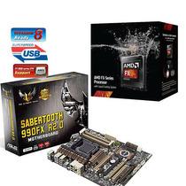 Fx-9370 Vishera 4.4ghz 8-core + Sabertooth 990fx R2.0 990fx