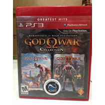 God Of War Collection Ps3 1 E 2 Completos Greatest Hits
