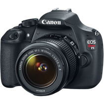 Camera Canon Eos Rebel T5 18-55mm Dslr Made In Br Garantia