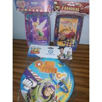 Platos Torteras Fiesta Infantil, Cars Timkerbel Toy Story
