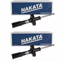 Par Amortecedor Dianteiro Nakata - Renault Clio 1.0 99/12