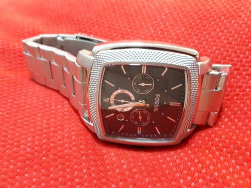 197aa55b116 Relógio Original Fossil Prata Quadrado - R  499