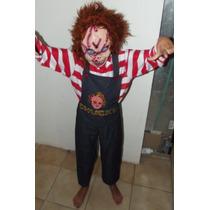 Remato Excelente Disfraz Hallowen Chucky Talla 8