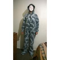 Pijama Polar Entero Con Patitas Adultos
