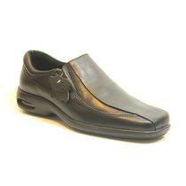 Zapatos Stork Man Cuero Negro - Angel - Camara De Aire