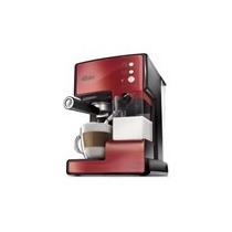 Cafetera Prima Latte Espresso Roja, Oster.