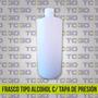Envase Tipo Alcohol 1000cc Con Tapa De Presión
