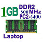 Remate Memoria Ram Ddr2 P/ Laptop Sodimm 1gb Pc2-6400 800mhz
