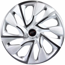 Jogo Calotas Escortivas Universal Aro 14 Fiat Ford Gm Vw