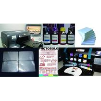 Kit Novo Negócio Profissional Photobolo A4 Hd - Chocoprint