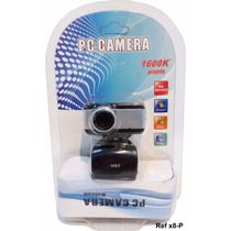 Web Cam Camera Digital Hd Com Microfone Usb