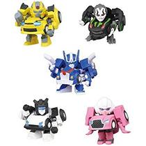 Juguete Q Transformers Mini Figura 5pcs Ajuste W / Mini Art