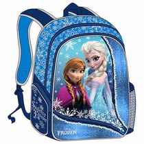 Morral Bolso Grande Frozen 3d Escolar Disney Original