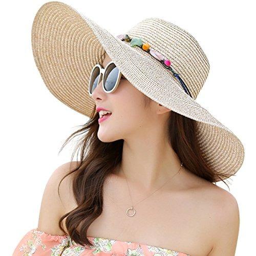 09c0d82ed3e9b Joyebuy Sombrero Grande De Ala Ancha Para Mujer Sombrero De -   94.990 en  Mercado Libre