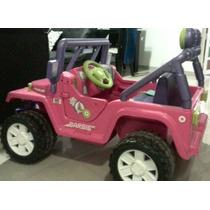 Jeep Barbie Eléctrico De Niñas