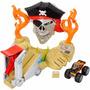 Hotwheels Monster Jam Pirate Takedown. Unica, Mira!!