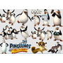 Kit Imprimible Pinguinos De Madagascar Full Fiesta 3x1