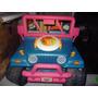 Jeep Power Wheels Barbie Playa 12v Incluye 3 Ritmos