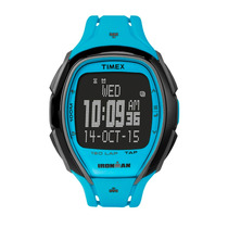 Timex 150 Voltas Tamanho Completo Ironman Resina Azul Elegan