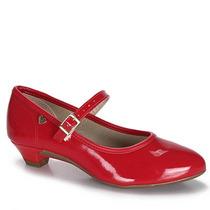 Sapato Infantil Molekinha - 25 Ao 34 - Vermelho