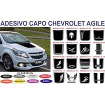 Acessorios Adesivo Capo Agile Sport Chevrolet