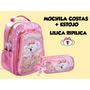 Kit Mochila De Costas E Estojo Lilica Ripilica
