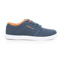 Zapatos Oakley Ground Azul Marino/naranja