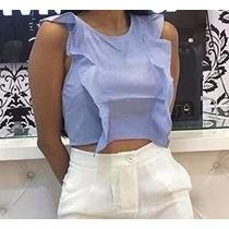 Blusas De Mujer Campesinas De Moda Todos Los Colores 058