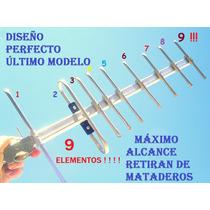 9 Elementos Tv Argentina Tda Tdt Uhf Digital Pública Lujo