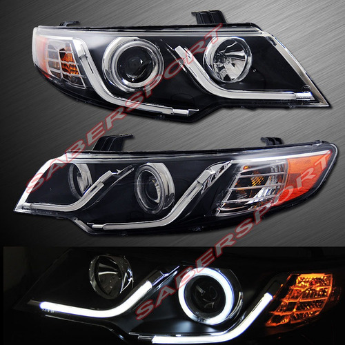 Faros Angel Eyes Led Kia Cerato Forte Koup U S 550 00