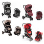 Cochecitos Kiddy Travel System Compass Plus Ultraliviano