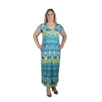 Vestido Malha Viscose Plus Size G Gg Xgg 46 Ao 52