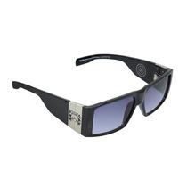 Óculos Masculino Evoke Bomber Black Shine Silver Gradien