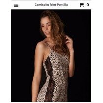 Caro Cuore Camisolin Print Puntilla. Cod: 01-6251