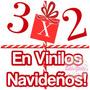 Vinilo Vidriera Navidad Fin Año Nuevo Fiestas Ploteo 3x2!