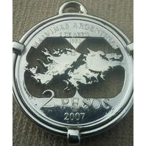 Moneda Calada De Malvinas