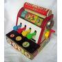Juguete Antiguo Ficher Price Cash Register Made In Usa