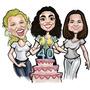 Caricaturas Para Convites De Casamentos Aniversarios Festas