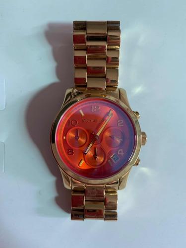 48129a38e5d Relógio Michael Kors Feminino Original Usado - R  400