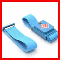 Pulsera Antiestatica Inalambrica En Color Azul Comoda Nylon