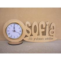 25 Souvenirs Reloj Con Nombre Personalizado Originales