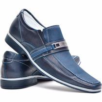 Sapato Social Masculino Bico Fino Luxo Oferta Black Friday