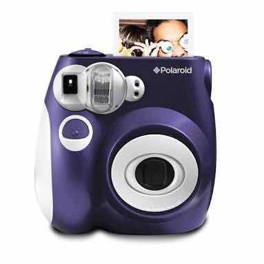 41b505f2584fa Polaroid 300 Instant Camera Roxa - Máquina Fotográfica - R  400