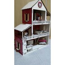 Casa De Bonecas Mdf Para Polly