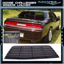 2008-2016 Dodge Challenger Cuberta Ventana Trasera Louver
