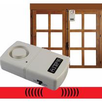 Alarma Inalámbrica Activada Por Vibracion Puerta Y Ventana