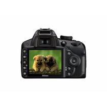 Maquina Fotografica Nikon Profissional D3200 C/ 18x55